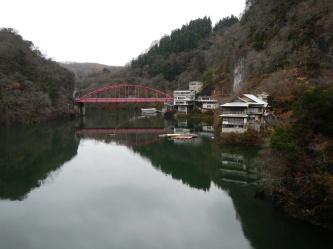 Bridge over Shinryu Lake