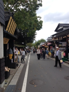 Tourist streets of Yufuin