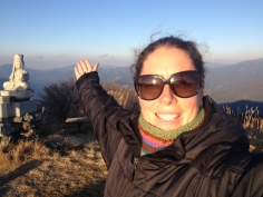 At the summit of Kajigamori