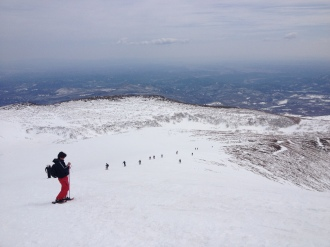 Mt. Kurikoma Winter Hike