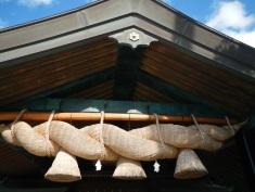 Giant 5 ton rope at Izumo Taisha Grand Shrine