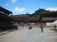 Old section of Izumo Taisha shrine complex