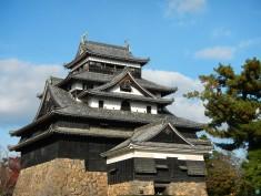 Matsue castle - one of Japan's few remaining original castle buildings