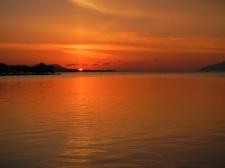 Last rays (Lake Shinji, Matsue)