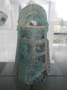 Copper bell from the Yayoi period, unearthed in Unnan, Shimane