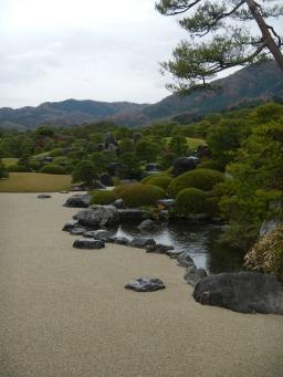 Adachi Museum of Art garden (Matsue, Shimane)
