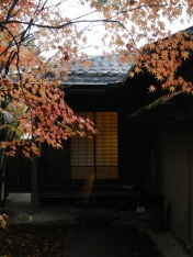 Tea house entrance (Adachi Museum of Art)