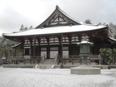 Temple building in Koyasan