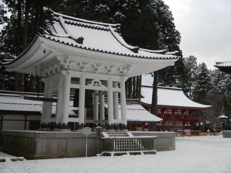 The great bell at Koyasan