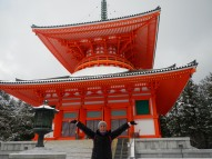 Look how big (and orange) this pagoda is!