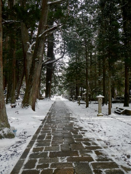 The graveyard path of Okunoin (Koya)