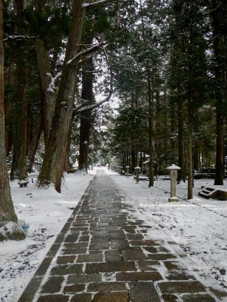 The graveyard path of Okunoin (Koya)