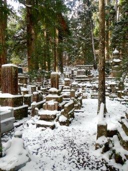 Endless gravestones (Okunoin, Koya)