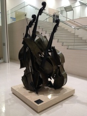 Sculpture at the Shimane Art Museum