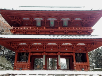 Daimon - the grand gateway at Koyasan