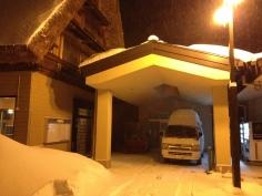 A cheeky parking spot for my van overnight