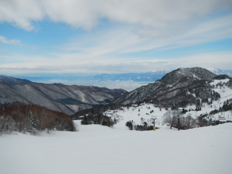 Outlook from the top of Yamaboku
