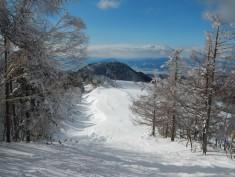 One of the ski runs at Yamaboku