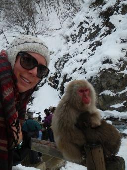 Monkey selfie!