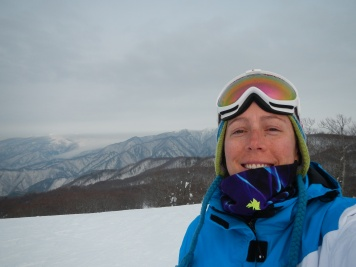 Mid mountain, with unkai (sea of cloud) in the background