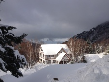Sunny here, cloudy in Nagano