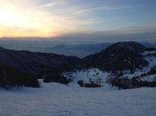 Sunset over Yamaboku