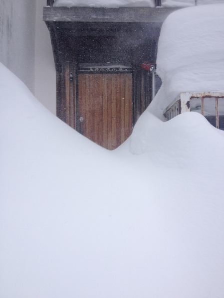 The entrance to our house