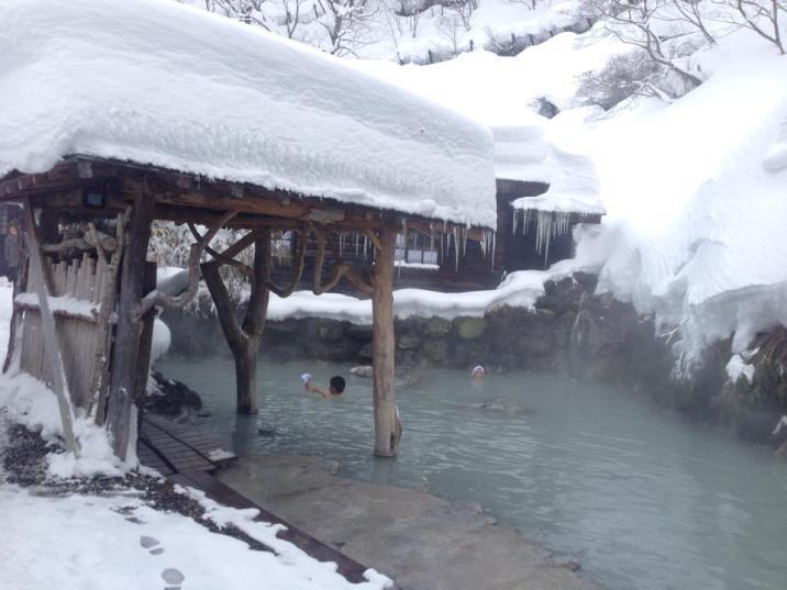 Tsuru-no-yu (Nyuto onsen, Akita pref)