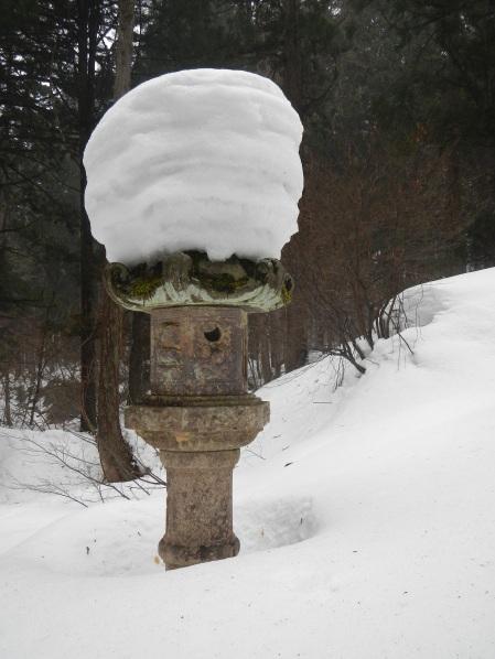 Snow-topped lantern (Haguro-san, Yamgata)