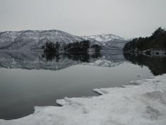 Near and far (Lake Towada, Aomori)