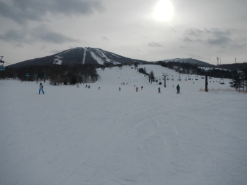 Main slope of the Appi Kogen hill