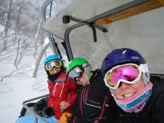 Me with Matt and Joey on the lift