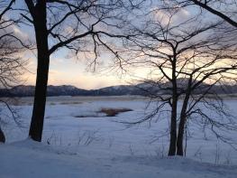 Sunset at Lake Tazawa (Akita)