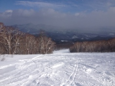 One of the many Appi slopes