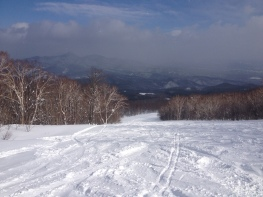 One of the many Appi slopes