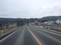 Buckled bridge